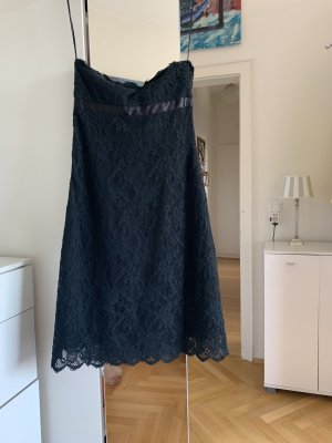Orig RED VALENTINO Cocktailkleid Kurzes Schwarzes Mini Kleid Spitzenkleid 36 38 S Spitze