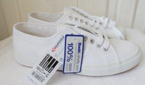 orig. Superga Sneaker Gr. 40 weiss NEU mit Etikett