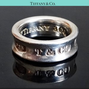 ORIG TIFFANY & Co. 1837 RING 925 Sterling Silber EU49 US4,9 / GUTER ZUSTAND
