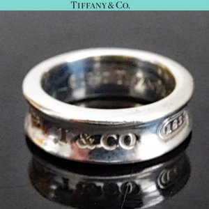 ORIG. TIFFANY & Co. 1837 RING 925 Sterling Silber EU51 US5,7 / GUTER ZUSTAND