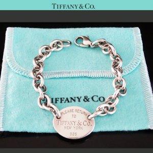 ORIG. TIFFANY & Co. ARMBAND RETURN TO TIFFANY 925 Silber Bracelet / SEHR GUTER ZUSTAND