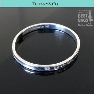 Tiffany&Co Bangle silver-colored stainless steel