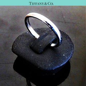 ORIG. TIFFANY & Co. ENGAGEMENT RING ** PT950 PLATIN ** EU48-49 US4.5-4.9 / GUTER ZUSTAND