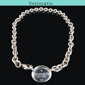 ORIG. TIFFANY & Co. HALS-KETTE CHOKER RETURN TO TIFFANY 925 Silber / SEHT GUTER ZUSTAND