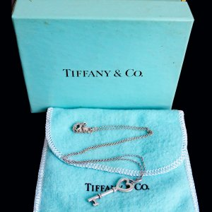 Tiffany&Co Necklace silver-colored real silver