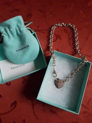 Orig. Tiffany & Co Halskette mit Herzanhänger!