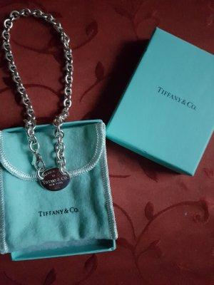 "Orig. Tiffany & Co Halskette ""Oval Tag Choker"""