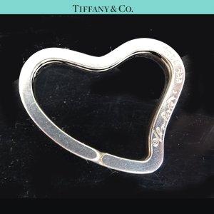ORIG. TIFFANY & Co. OPEN HEART SCHLÜSSEL-RING SCHLÜSSEL-ANHÄNGER HERZ 925 SILBER