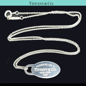 ORIG. TIFFANY & Co. RETURN TO TIFFANY HALS-KETTE mit ANHÄNGER 925 Silber chain