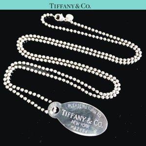 ORIG TIFFANY & Co. RETURN TO TIFFANY KUGEL-HALSKETTE MIT ANHÄNGER ÜBERLANG UNISEX 925 Silber / SEHR GUTER ZUSTAND