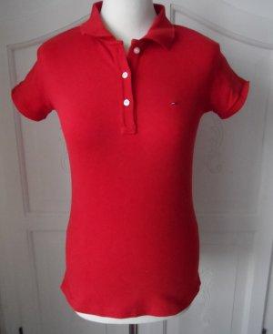 orig. Tommy Hilfiger Poloshirt Gr. M (38) Rot nur 2 x getragen