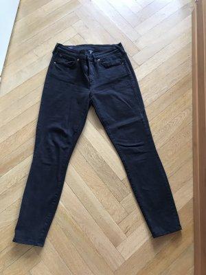 Orig TRUE RELIGION Halle Skinny Jeans schwarz 26 wNeu S