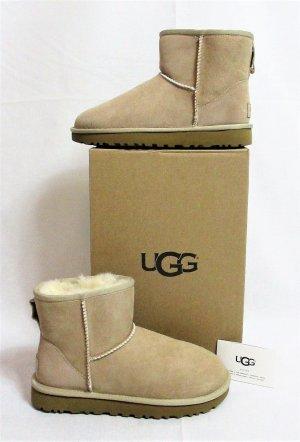 """Orig. UGG Damen Boots """"Classic Mini II""""/Stiefel/Sand/Beige/Gr.37/NEU!"""