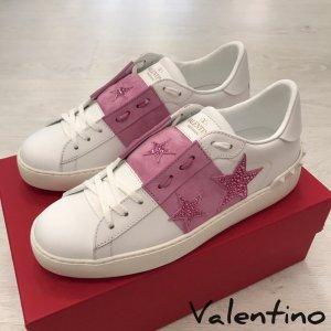 """orig. Valentino Garavani """"Open"""" Sneakers mit Sternenstickerei NEU SS2019"""