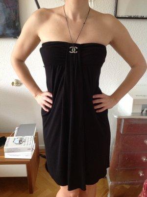 Orig VELVET Kleid schwarz wNeu 169€ Jersey Cocktailkleid Jades S M Bandeau
