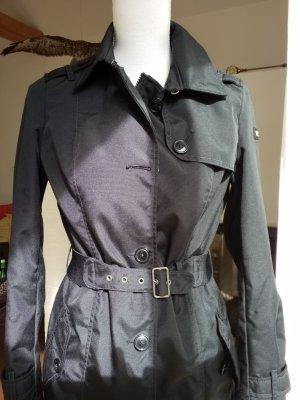 Woolrich Trenchcoat noir nylon