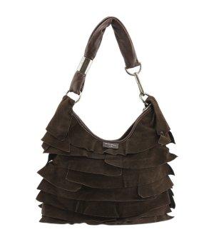 Orig. YSL Tom Ford for YSL Yves Saint Laurent Wildleder Leder Handtasche Tasche Saint Tropez Schultertasche Umhängetasche