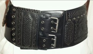 Saint Laurent Belt black leather
