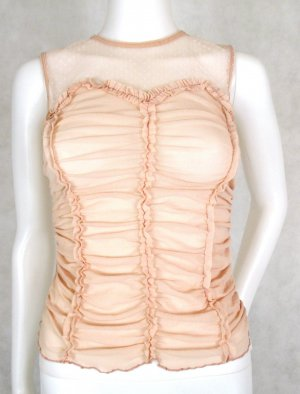 Orig. Zara Woman Top / Rosé / Rosa/Semitransparent /100% Nylon / wie NEU!