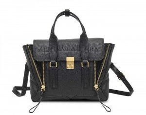 3.1 Phillip Lim Sac noir cuir