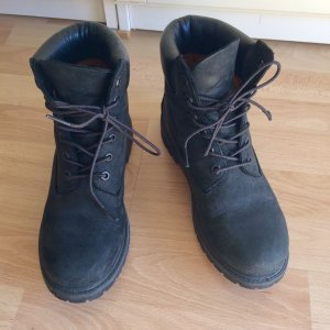 Timberland Lace-up Boots black leather