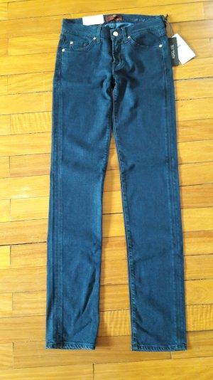 Original 7 for all Mankind Jeans 27 Roxanne the slim silk touch neu mit Etikett