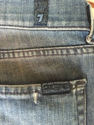 "ORIGINAL 7 FOR ALL MANKIND JEANS MODELL ""EDIE"" GRÖßE 28"
