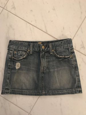 Original 7 for all Mankind Jeansrock Gr. 25
