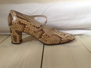 Tacones Mary Jane multicolor