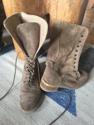 Original 90ger Boots Wildleder