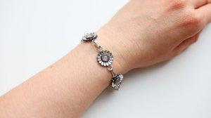 Armband veelkleurig Zilver