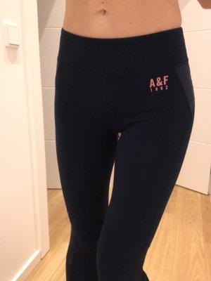 Abercrombie & Fitch Pantalone da ginnastica blu scuro