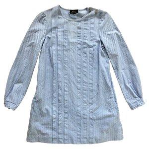 Original A.P.C. | kurzes Baumwoll-Kleid | Baumwolle | Hemdblusenkleid | S