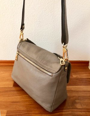 abro Handbag grey leather