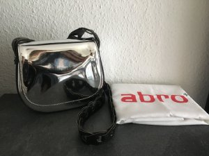abro Crossbody bag silver-colored