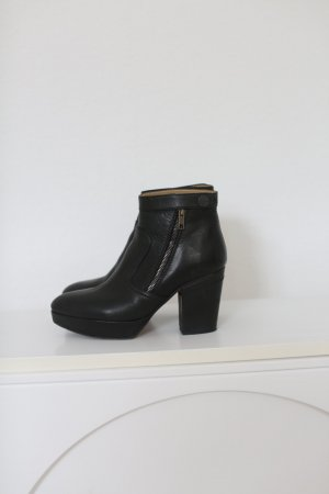 Original Acne Studios Track Boots Gr. 38 Echtes Leder Ankle Boots Plateau