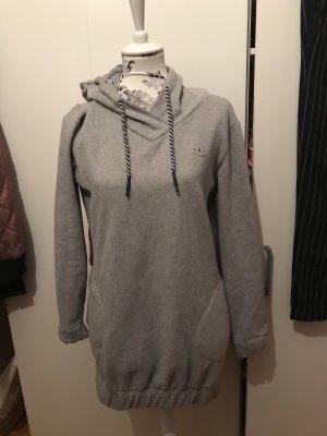 Original Adidas hoodie Pullover Pulli mit Kapuze grau