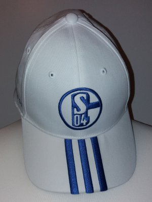 Adidas Baseball Cap white-blue cotton