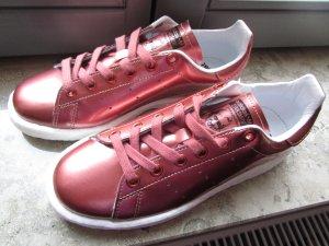 Adidas Stan Smith Adicolor Zapatilla brogue blanco-color rosa dorado