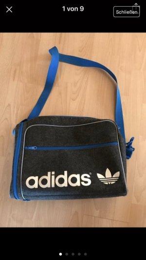 Adidas Originals Borsa a spalla grigio-blu