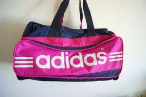 Adidas Sporttas donkerblauw-roze