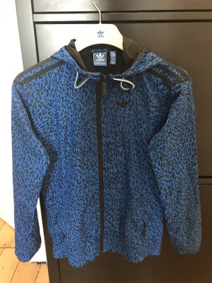 Adidas Originals Giacca a blusa blu neon