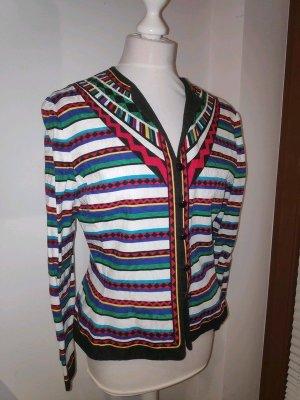 Adrianna Papell Tuxedo Blazer multicolored cotton