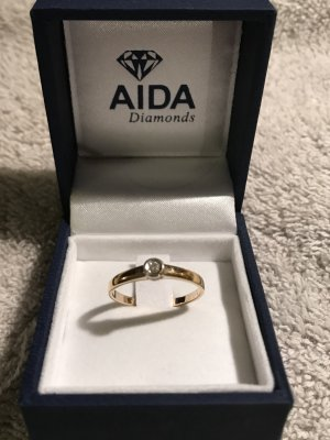 Original AIDA Diamonds Goldring