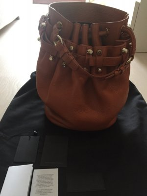 Alexander Wang Handbag cognac-coloured-gold-colored leather