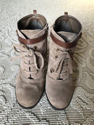 Original Alisha Velours-Leder Ankle Boots