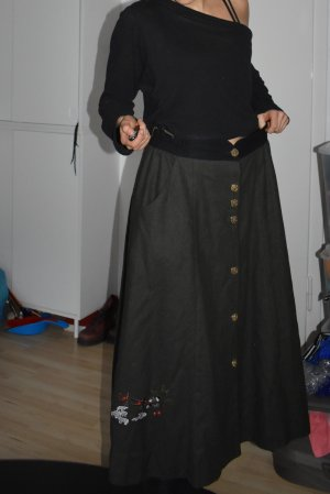 Alphorn Wool Skirt multicolored wool