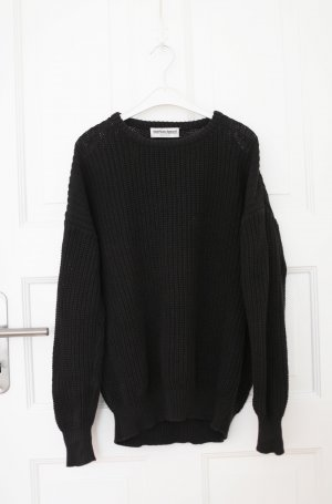 American Apparel Coarse Knitted Sweater black