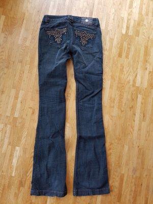 original Antik Denim rockstud Jeans bootcut w24