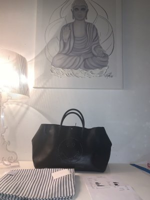 Anya hindmarch Tote black leather